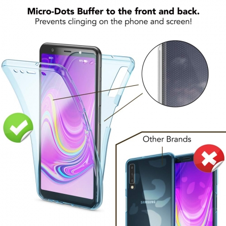 Husa silicon 360 fata+spate Samsung A502