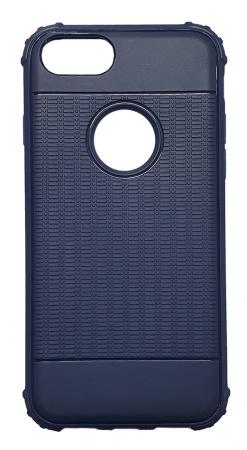 Husa silicon anti shock cu striatii Iphone 7/8, Albastru [0]