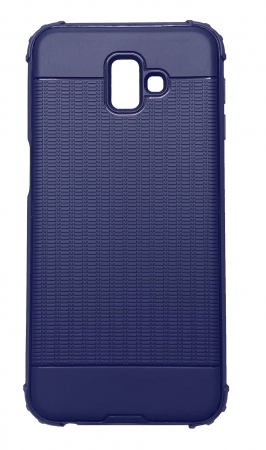 Husa silicon anti shock cu striatii Samsung J4 plus - 2 culori1