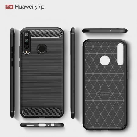 Husa silicon carbmat Huawei P40 Lite E [1]