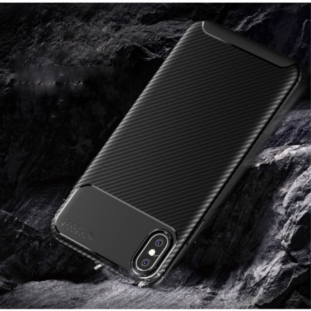 Husa silicon carbon 4 Iphone X/Xs - 3 culori1
