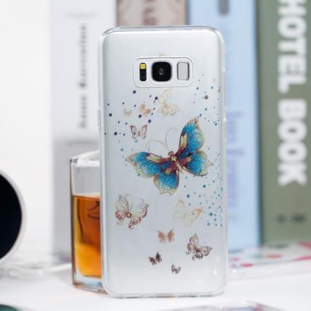 Husa silicon design matrita Samsung S8+3