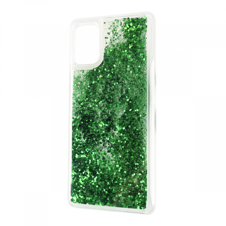 Husa silicon lichid-sclipici Samsung A51 - 2 culori [1]