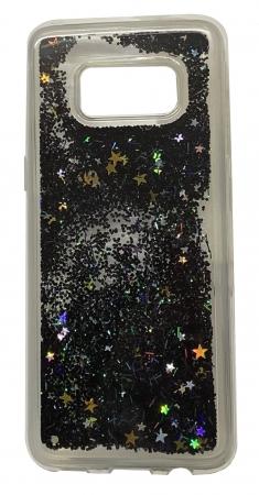 Husa silicon lichid-sclipici Samsung S8 - 4 culori0