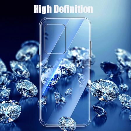 Husa silicon slim Samsung A71, Transparent1