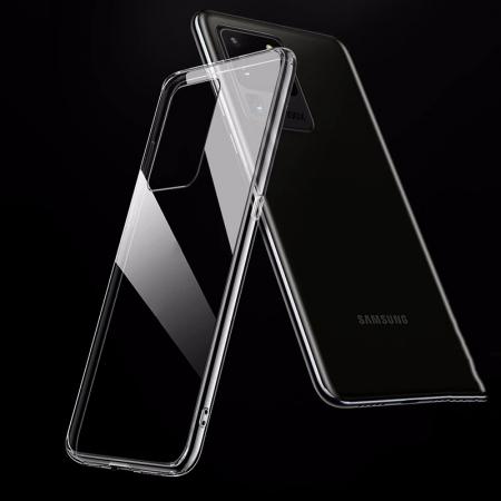 Husa silicon slim Samsung A71, Transparent0