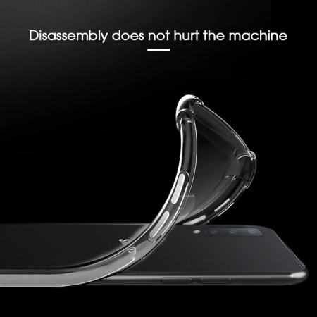 Husa silicon transparent anti shock Samsung A401