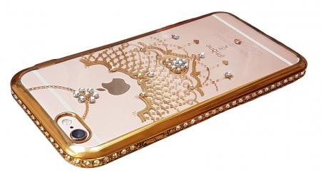 Husa silicon pietricele margine Iphone 6/6s - 3 modele3