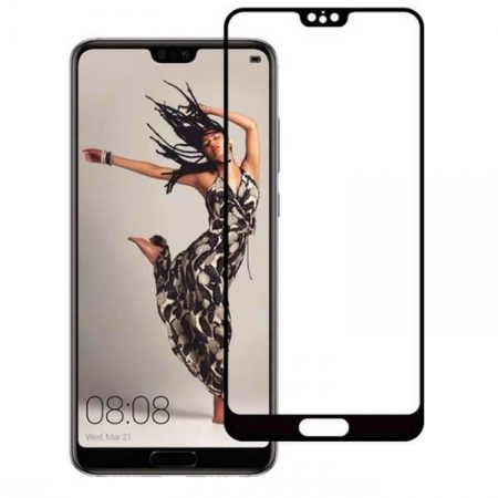 Folie sticla 3D Huawei P20, Negru1