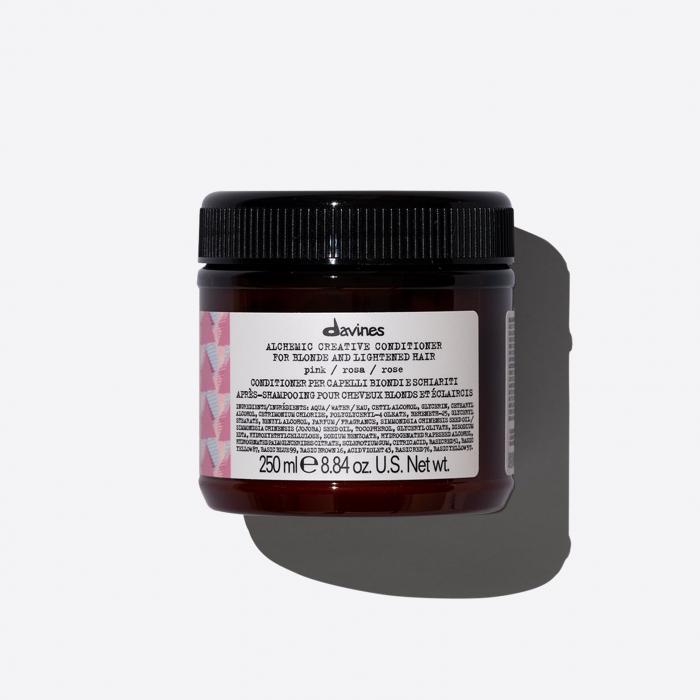 Balsam de îngrijire a culorii părului blond Alchemic Pink 250ml [0]