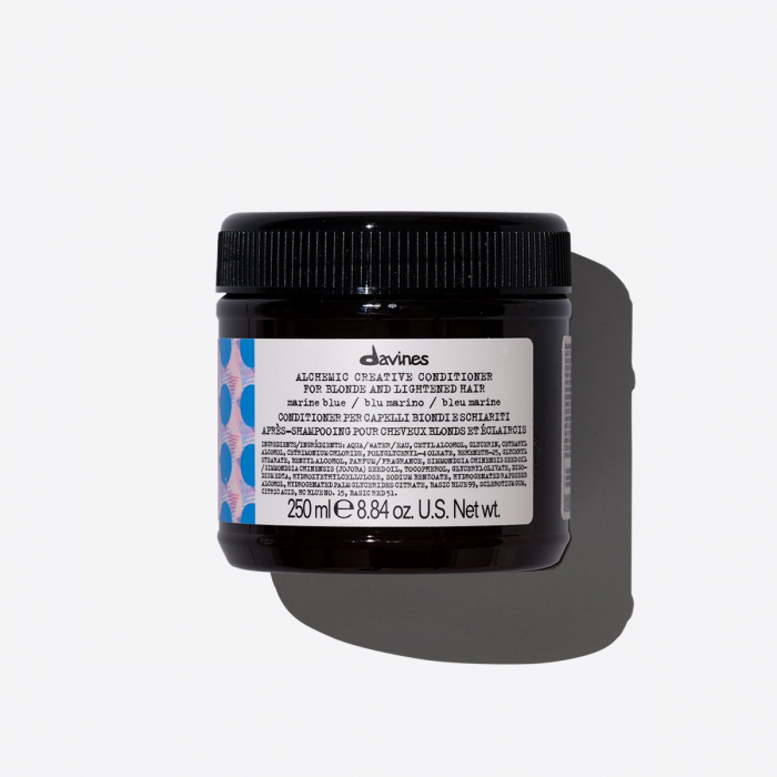 Balsam de îngrijire a culorii părului blond Alchemic Marine Blue 250ml 0
