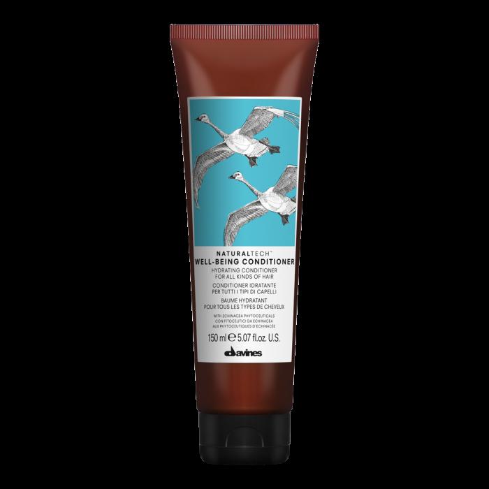 Balsam hidratant pentru toate tipurile de păr Naturaltech Well Being 150ml [0]
