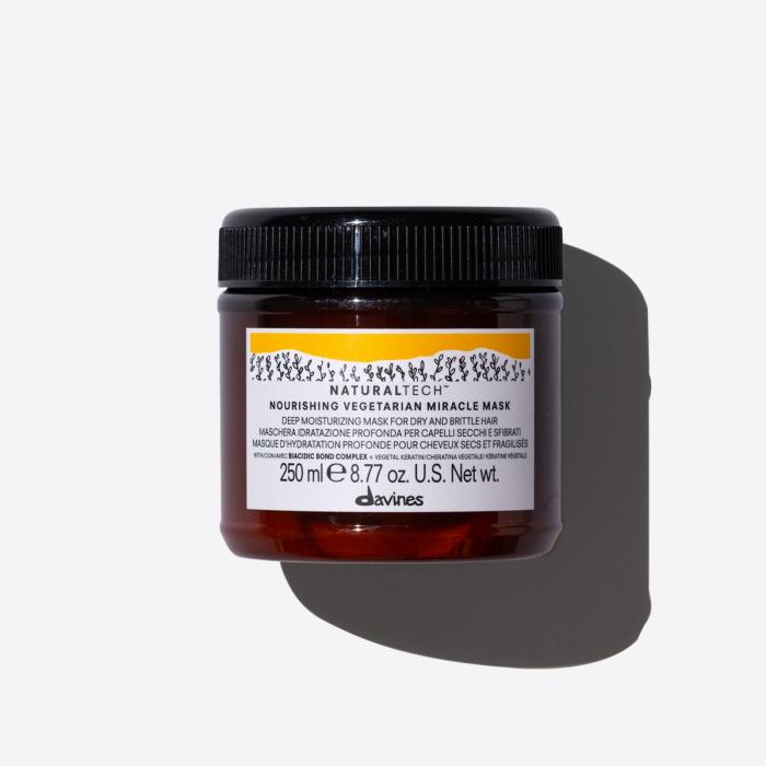 Mască de hidratare pentru păr fragil Naturaltech Vegetarian miracle 250ml [0]