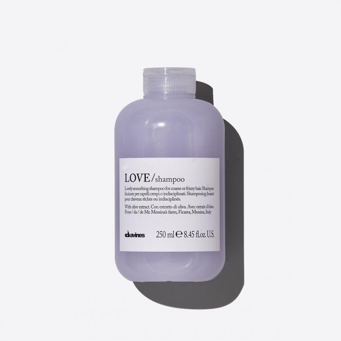 Șampon hidratant pentru păr aspru sau electrizat Love 250ml 0