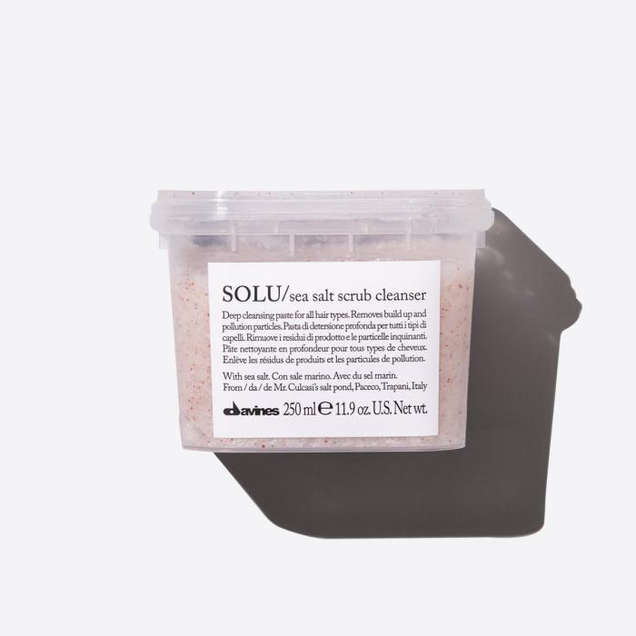 Pastă de curățare pentru toate tipurile de păr Solu Sea Salt 250ml [0]