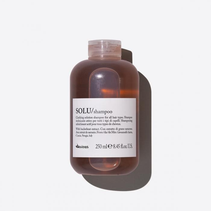 Șampon de curățare pentru păr normal Solu Refreshing 250ml 0