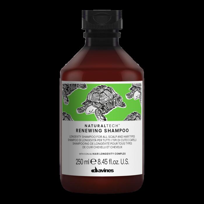Șampon anti-îmbătrânire pentru păr și scalp Naturaltech Renewing 250ml 0