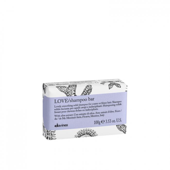 LOVE/SMOOTHING Şampon solid pentru netezirea părului, rebel și uscat [0]