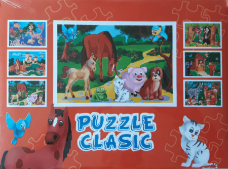 Puzzle animale domestice, 30 piese [2]