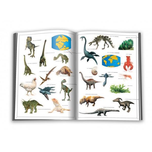 Dinozaurii - abtibild - carte cu activitati [2]