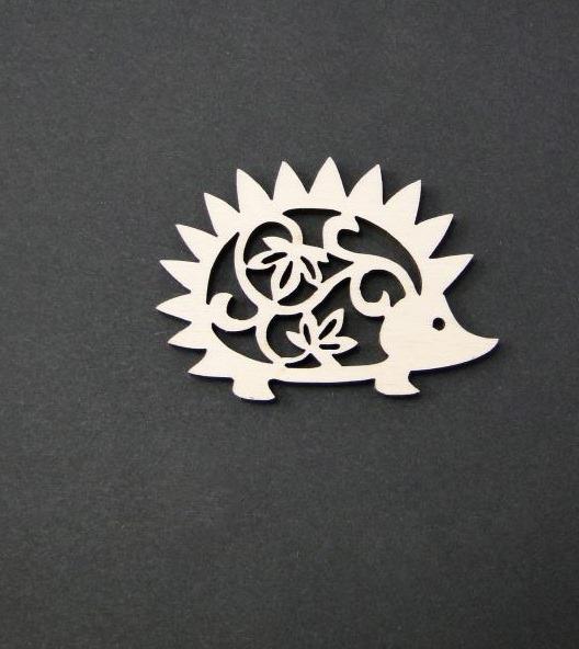 Figurina mini lemn - arici 0