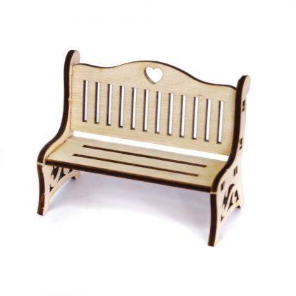 Mini mobilier din lemn – bancă 0