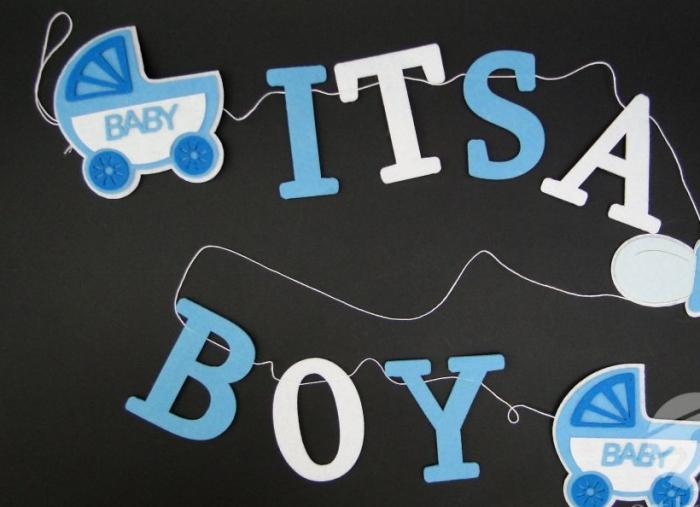 Banner / ghirlanda - It's a boy [0]