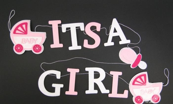 Banner / ghirlanda - It's a girl [0]