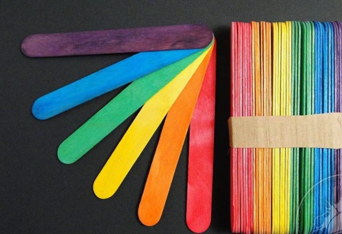 Betisoare / lopatele color - late [0]