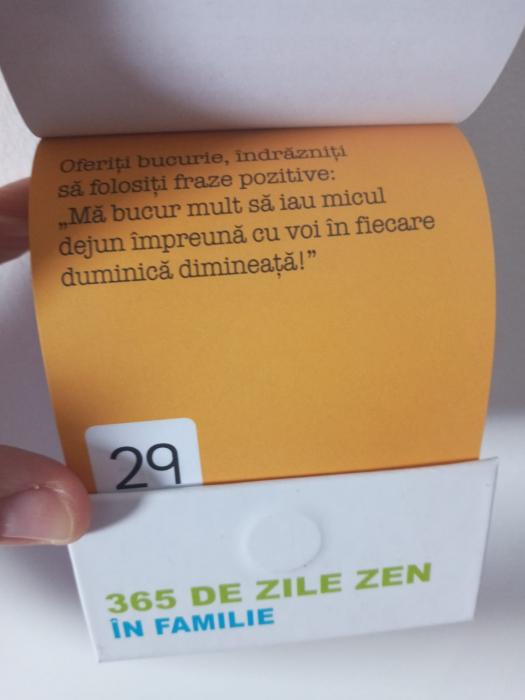 365 de zile zen in familie - calendar 1