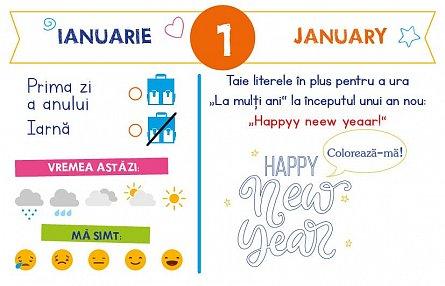 Calendarul meu anual: Invat limba engleza - de la 4 la 6 ani [2]