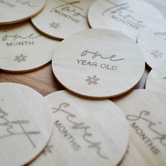 Carduri de amintiri - colectie baby milestone 0