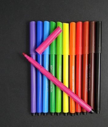 Carioci color Koh-I-Noor 12 culori [0]