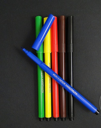Carioci color Koh-I-Noor 6 culori [0]