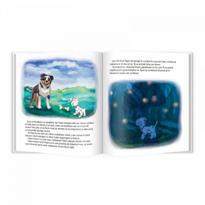 Carte educativa Pupo invata sa fie curajos [3]