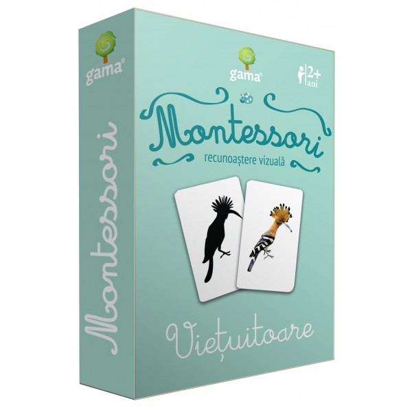 Carti de joc in stil Montessori - Vietuitoare [0]