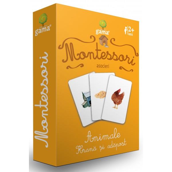 Carti de joc in stil Montessori - Animale. Hrană și adăpost [0]