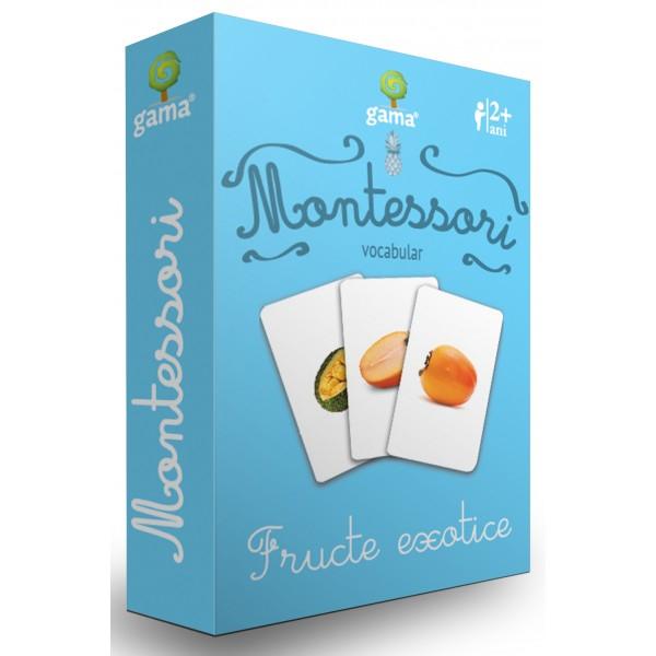Carti de joc in stil Montessori - Fructe exotice [0]