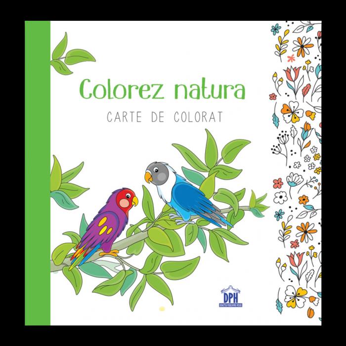Colorez natura - Carte de colorat [0]