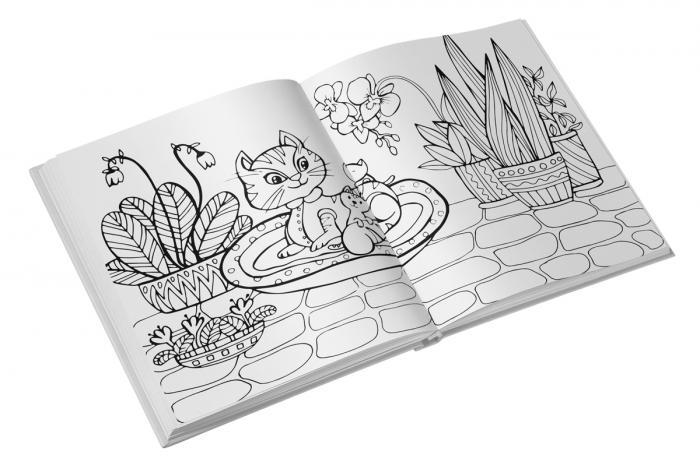 Colorez pisici - carte de colorat [1]