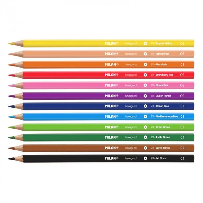 Creioane colorate - Milan 1