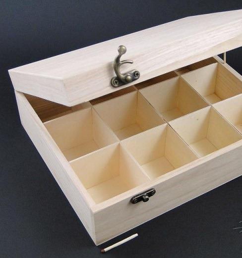 Cutie pentru uleiuri sau pentru filtru ceai cu 12 compartimente 0