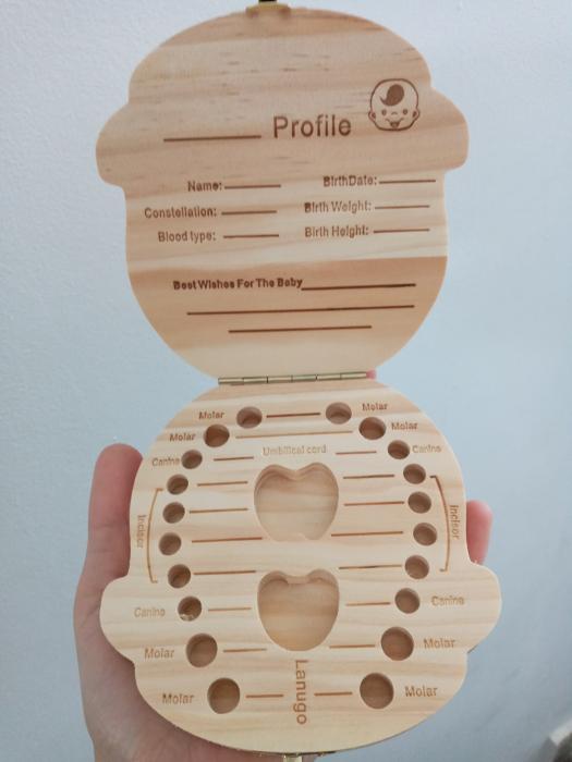 Cutiuta pentru dintisorii de lapte - model baietel [1]