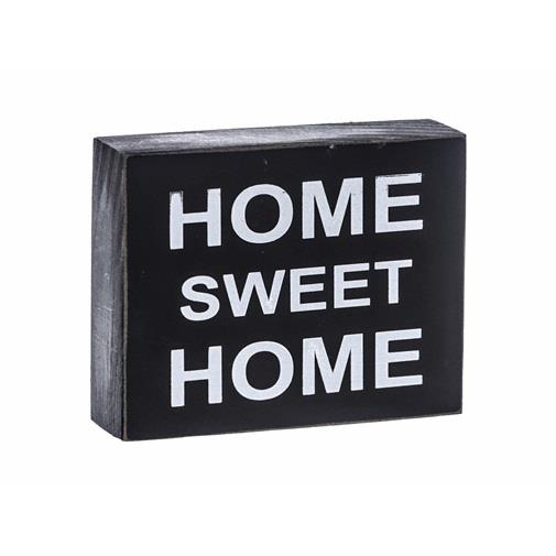 Decoratiune lemn HOME SWEET HOME 0