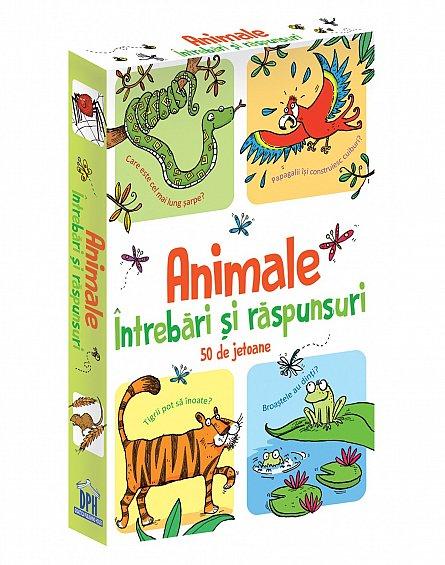 Animale - Intrebari si raspunsuri - 50 de Jetoane [0]