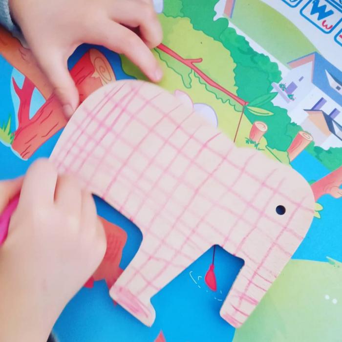 Elefant din lemn [5]