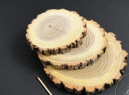 Felie rotunda din lemn de salcam 0