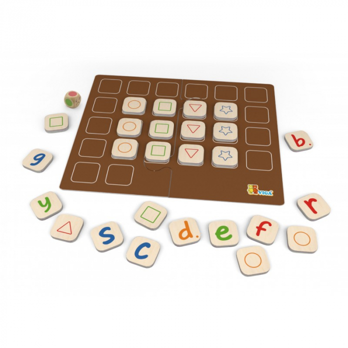 Joc invata alfabetul - Viga 1