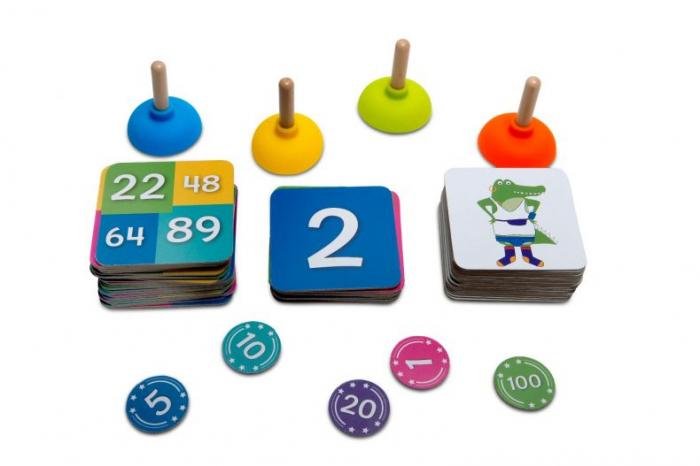 Joc matematic Tinutele crocodilului BS Toys 3