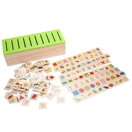 Joc de sortare si asociere in stil Montessori 1